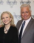 Susan Stroman and David Thompson attends the Vineyard Theatre Gala honoring Colman Domingo at the Edison Ballroom on May 06, 2019 in New York City.