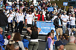 U.S. Senate candidate Catherine Cortez Masto, center, walks in the annual Nevada Day parade in Carson City, Nev. on Saturday, Oct. 29, 2016. <br /> Photo by Cathleen Allison