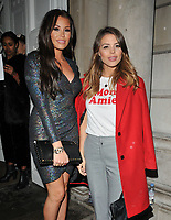 Jessica Wright and Chloe Lewis at the Gigi Hadid x Maybelline Jetsettter Cosmetics Kit VIP launch party, Hotel Gigi, 93 Mortimer Street, London, England, UK, on Tuesday 07 November 2017.<br /> CAP/CAN<br /> &copy;CAN/Capital Pictures /MediaPunch ***NORTH AND SOUTH AMERICAS ONLY***
