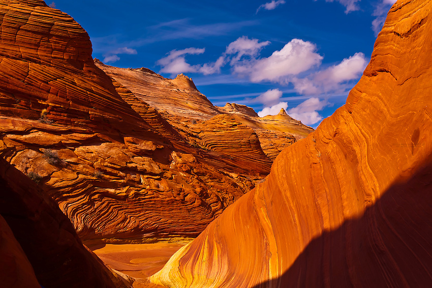 The Wave II, Coyote Buttes North, Paria Canyon-Vermillion Cliffs Wilderness Area, Utah-Arizona border, USA
