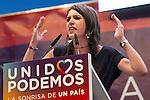Spanish politician Irene Montera during the closing of the electoral campaign of Unidos Podemos. 24,06,2016. (ALTERPHOTOS/Rodrigo Jimenez)