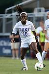 14 August 2014: Duke's Toni Payne. The Duke University Blue Devils hosted the University of South Carolina Gamecocks at Koskinen Stadium in Durham, NC in a 2014 NCAA Division I Women's Soccer preseason match. Duke won the exhibition 2-0.