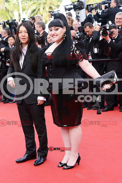 """Kristin Ogata and  Beth Ditto attending the """"De Rouille et D'os"""" Premiere during the 65th annual International Cannes Film Festival in Cannes, 17th May 2012...Credit: Timm/face to face /MediaPunch Inc. ***FOR USA ONLY***"""