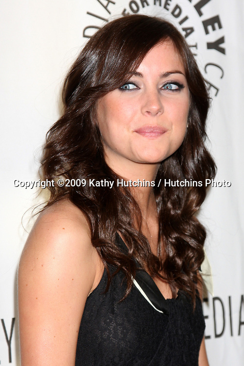 Jessica Stroup  arriving at the 90210  PaleyFest09 event on April 11 ,2009 at the Paley Center for Media in Beverly Hills, California..©2009 Kathy Hutchins / Hutchins Photo....                .
