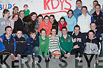 BASKETBALL: Partaking in the Shannonside Mini Region Annual Basketball competitions in The Community Centre, Ballybunion, on Friday night