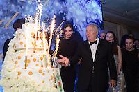 Massimo Gargia &amp; Lola Karimova-Tillyyaeva : &quot; The Best &quot; 40th Edition &agrave; l'h&ocirc;tel George V.<br /> France, Paris, 27 janvier 2017.<br /> ' The Best ' 40th Edition at the George V hotel in Pais.<br /> France, Paris, 27 January 2017