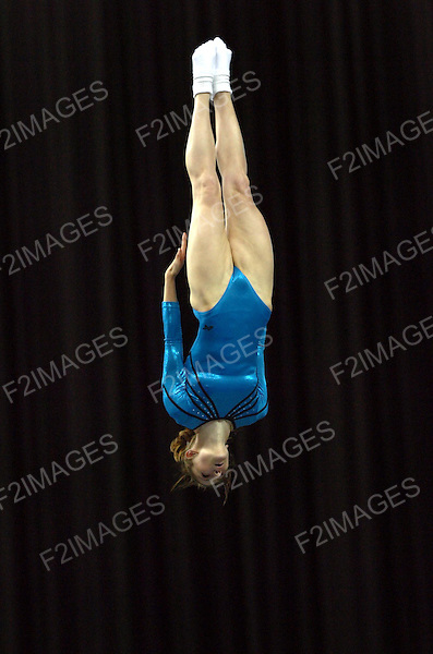 July 2005 British Trampoline Championships.NIA Birmingham.<br /> Photos by Alan Edwards.