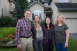 Kevin Meyer Family... Kevin, Marty, Karly and Valentina, along with puppies Cocoa an Mattie.