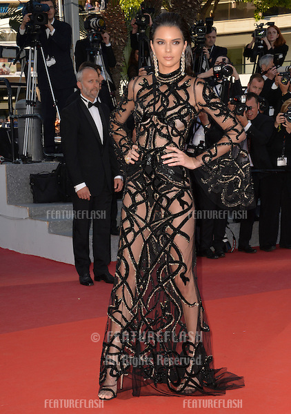 Kendall Jenner at the gala premiere of &quot;From the Land of the Moon&quot; (&quot;Mal de Pierres&quot;) at the 69th Festival de Cannes.<br /> May 15, 2016  Cannes, France<br /> Picture: Paul Smith / Featureflash