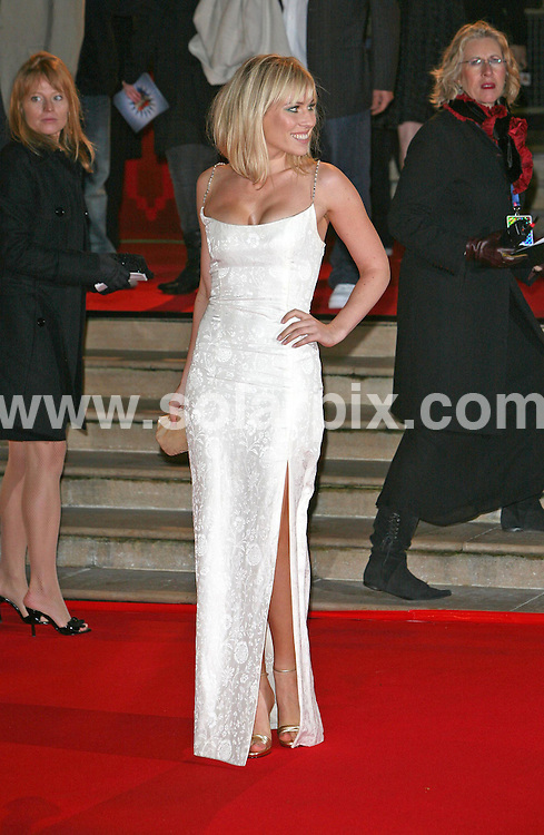 **ALL ROUND PICTURES FROM SOLARPIX.COM**.**WORLDWIDE SYNDICATION RIGHTS**.2007 Brit Awards at Earls Court, London on 14.02.07..This pic: Natasha Bedingfield...JOB REF:  3416     SSD     DATE:  14.02.07.**MUST CREDIT SOLARPIX.COM OR DOUBLE FEE WILL BE CHARGED* *UNDER NO CIRCUMSTANCES IS THIS IMAGE TO BE REPRODUCED FOR ANY ONLINE EDITION WITHOUT PRIOR PERMISSION*