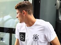 Mario Gomez (Deutschland Germany) - 31.08.2017: Teamankunft Deutschland in Prag, Marriott Hotel