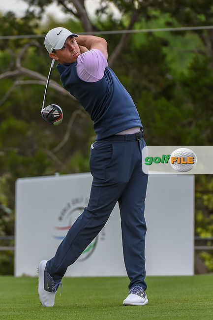 Rory McIlroy (NIR) watches his tee shot on 2 during day 3 of the WGC Dell Match Play, at the Austin Country Club, Austin, Texas, USA. 3/29/2019.<br /> Picture: Golffile   Ken Murray<br /> <br /> <br /> All photo usage must carry mandatory copyright credit (© Golffile   Ken Murray)