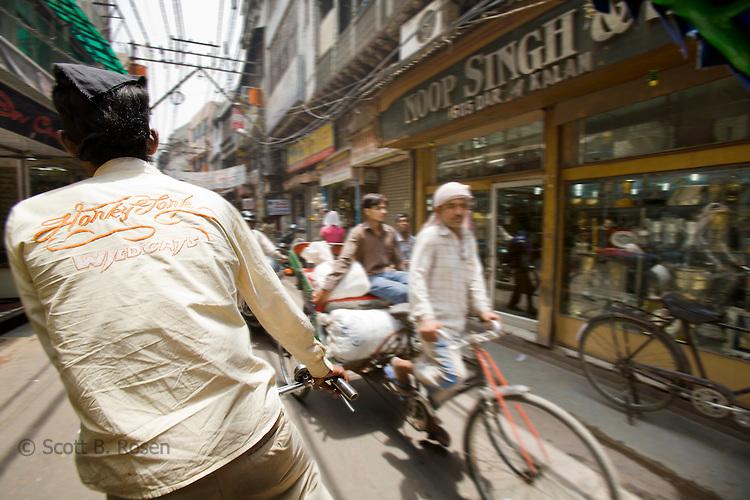 Old Delhi street scene