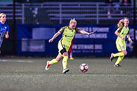 Boston, MA - Saturday April 29, 2017: Jess Fishlock during a regular season National Women's Soccer League (NWSL) match between the Boston Breakers and Seattle Reign FC at Jordan Field.