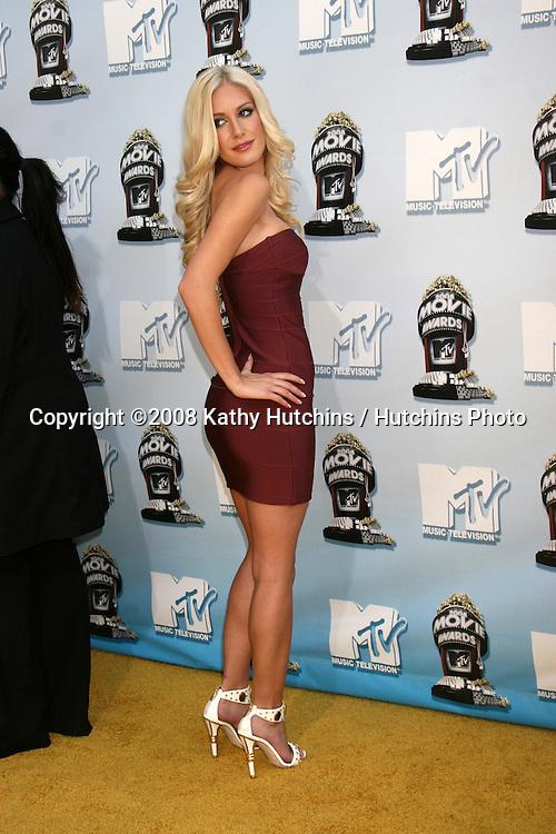 Heidi Montag .MTV Movie Awards 2008.Universal City.Los Angeles,  CA.May 31, 2008.©2008 Kathy Hutchins / Hutchins Photo .