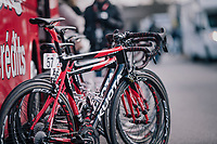 Team Cofidis bikes at the ready<br /> <br /> 50th GP Samyn 2018<br /> Quaregnon > Dour: 200km (BELGIUM)