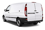 Car pictures of rear three quarter view of a 2013 Mercedes Benz Vito 113CDi SWB Long 4 Door Cargo Van 2WD Angular Rear