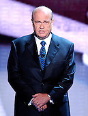 "New York, NY - September 2, 2004 --  Fred Thompson, star of the NBC Television series ""Law & Order"" introduces a video  about United States President George W. Bush at the 2004 Republican Convention in Madison Square Garden in New York , New York on Thursday, September 2, 2004.  Thompson is a former United States Senator (Republican of Tennessee) and served the Senate Watergate Committee as a minority counsel.  He has also appeared in motion pictures such as ""The Hunt for Red October"" with Sean Connery..Credit: Ron Sachs / CNP.(RESTRICTION: No New York Metro or other Newspapers within a 75 mile radius of New York City)"