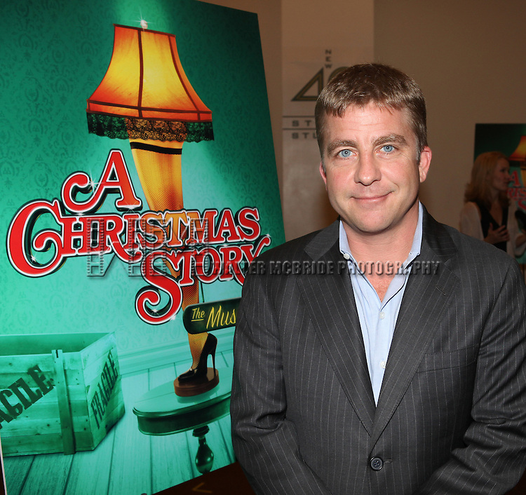 Peter Billingsley attends the Meet & Greet for 'A Christmas Story, The Musical' at the New 42nd Street Studios on 10/22/2012 in New York City.