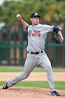 Billy Bullock (38) of the Ft. Myers Miracle during a game vs. the Lakeland Flying Tigers June 6 2010 at Joker Marchant Stadium in Lakeland, Florida. Ft. Myers won the game against Lakeland by the score of 2-0.  Photo By Scott Jontes/Four Seam Images