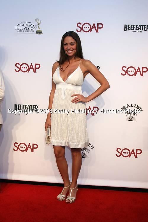 "Jessica Leccia  arriving at the SoapNet ""Night Before Party"" for the nominees of the 2008 Daytime Emmy Awards at Crimson & Opera in Hollywood, CA.June 19, 2008.©2008 Kathy Hutchins / Hutchins Photo ."