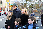 Singer James Taylor and family at the Macy's Thanksgiving Day Parade on November 27, 2008 in New York City, NY. (Photo by Sue Coflin/Max Photos)