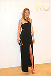 Model Karmen Pedaru Attends The Michael Kors Gold Collection Fragrance Launch Held at the Standard Hotel NYC