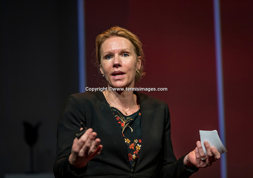 Nieuwegein, Netherlands, November 23,  2019, MBC Congrescentrum, KNLTB Year Congres , Esther Vergeer<br /> Photo: Tennisimages/Henk Koster