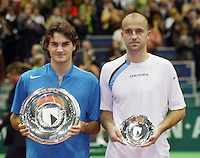 20-02-2005,Rotterdam, ABNAMROWTT , Federer  Ljubicic