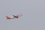 FIS Ski Jumping World Cup - 4 Hills Tournament 2019 in Innsvruck on January 4, 2019; EasyJet Airplane, aircraft in the sky of Innsbruck