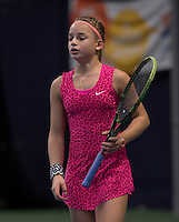 Hilversum, Netherlands, December 4, 2016, Winter Youth Circuit Masters, Anouck Vrancken-Peeters (NED)<br /> Photo: Tennisimages/Henk Koster