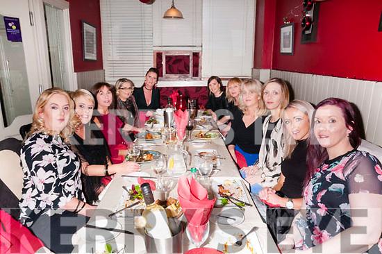 Women's Christmas: Ladies from the Listowel area celebrating Women's Christmas at Eabha Joan's Restaurant, Listowel on Saturday night last.