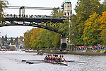 Rowing, Head of the Lake Regatta, November 2 2014, Seattle, Rose City Rowing Club, crew,  men's jr JV 8+, Washington State, Lake Washington Rowing Club, Lake Washington Ship Canal, Montlake Cut,
