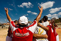 Belo Horizonte_MG, Brasil...1a Copa Kaiser de Futebol Amador de Belo Horizonte. Jogo entre Ferroviaria  x Napoli. ..1st Kaiser Cup of Amateur Football in Belo Horizonte. The match was between Ferroviaria X Napoli. ..Foto: NIDIN SANCHES / NITRO