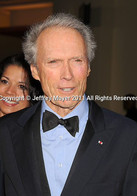 HOLLYWOOD, CA - January 29: Clint Eastwood - DGA Awards Co-Chair  arrives at the 63rd Annual DGA Awards held at the Grand Ballroom at Hollywood & Highland Center on January 29, 2011 in Hollywood, California.