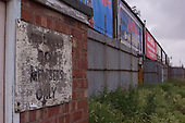 23/06/2000 Blackpool FC Bloomfield Road Ground..West stand reserved box entrance sign.....© Phill Heywood.