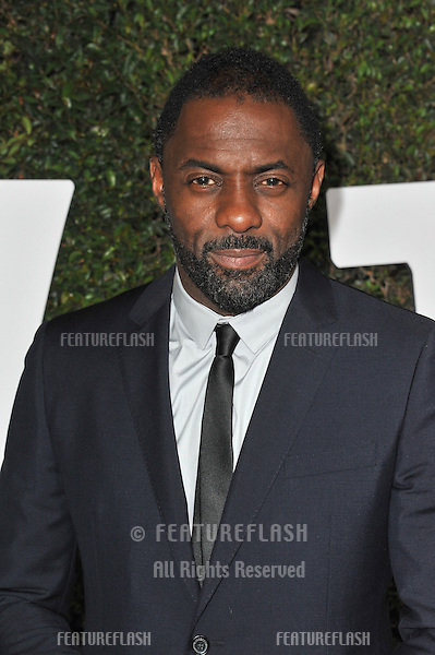 Idris Elba at the Los Angeles premiere of his movie &quot;Mandela: Long Walk to Freedom&quot; at the Cinerama Dome, Hollywood.<br /> November 11, 2013  Los Angeles, CA<br /> Picture: Paul Smith / Featureflash