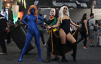 SAO PAULO, SP - 06.12.2018 - CCXP 2018 - Cosplays sao vistos durante a Comic Con 2018 na S&atilde;o Paulo Expo, na zona sul de S&atilde;o Paulo na tarde desta quinta-feira (06).<br /> <br /> (Foto: Fabricio Bomjardim / Brazil Photo Press )