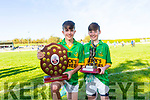 Moyvane North Kerry U13 Tommy Madden Champions 2018 Fionn Mulvihill Captain and Danny Lyons Man of the Match played in Coolard on Sunday morning.