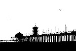 Pier (lith), Huntington Beach, CA