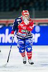 Solna 2014-03-15 Bandy SM-final Damer Kareby IS - AIK  :  <br /> Karebys Hanna Dahlstr&ouml;m deppar<br /> (Foto: Kenta J&ouml;nsson) Nyckelord:  SM SM-final final dam damer Kareby AIK depp besviken besvikelse sorg ledsen deppig nedst&auml;md uppgiven sad disappointment disappointed dejected