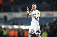 Leeds United's Pablo Hernandez applauds the fans at the final whistle<br /> <br /> Photographer Rich Linley/CameraSport<br /> <br /> The EFL Sky Bet Championship - Leeds United v Reading - Tuesday 27th November 2018 - Elland Road - Leeds<br /> <br /> World Copyright © 2018 CameraSport. All rights reserved. 43 Linden Ave. Countesthorpe. Leicester. England. LE8 5PG - Tel: +44 (0) 116 277 4147 - admin@camerasport.com - www.camerasport.com