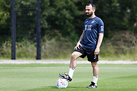 Pictured: Leon Britton during the Swansea City FC training session at the Fairwood training ground in Swansea, Wales, UK Saturday 29 June 2019Leon Britton of Swansea City in action. Saturday 29 June 2019<br /> Re: Swansea City FC training, Fairwood, near Swansea, Wales, UK