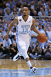 24 February 2015: North Carolina's J.P. Tokoto. The University of North Carolina Tar Heels played the North Carolina State University Wolfpack in an NCAA Division I Men's basketball game at the Dean E. Smith Center in Chapel Hill, North Carolina. NC State won the game 58-46.