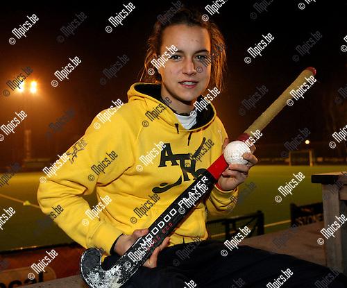 2009-01-14 / Hockey / Erica Coppey ..Foto: Maarten Straetemans (SMB)