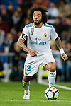 Marcelo Vieira Da Silva of Real Madrid in action during the La Liga 2017-18 match between Real Madrid and Girona FC at Estadio Santiago Bernabéu  on March 18 2018 in Madrid, Spain. Photo by Diego Souto / Power Sport Images