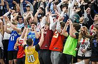 Bentonville West vs Springdale Har-Ber Friday, Feb. 14, 2020, at Wildcat Arena in Springdale. Go to nwaonline.com/prepbball/ to see more photos.<br /> (NWA Democrat-Gazette/Ben Goff)