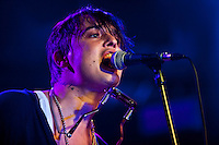 ROME, IT - SEPTEMBER 13: Pete Doherty in concert in Rome,Italy. September 13, 2012. Credit: Alessandro Serrano/ AGF / MediaPunch Inc. ***NO ITALY*** /NortePhoto.com<br />