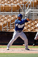 Xavier Paul - Los Angeles Dodgers 2009 Instructional League. .Photo by:  Bill Mitchell/Four Seam Images..