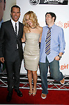 "HOLLYWOOD, CA. - September 15: Actors Dane Cook, Kate Hudson and Jason Biggs arrive at the world premiere of ""My Best Friend's Girl"" at The Arclight Hollywood on September 15, 2008 in Hollywood, California."